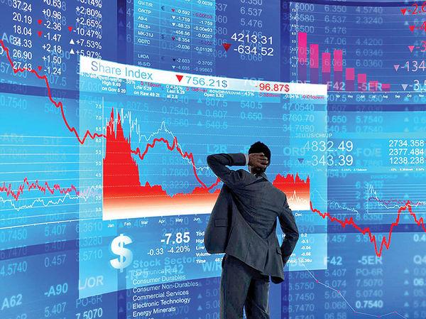 9879890 - نگرانی های تجاری جدید بازار جهانی سهام