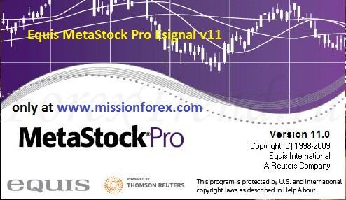 Equis MetaStock Pro Esignal v11 - دانلود نرم افزار متا استاک