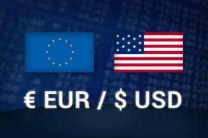 EUR USD 300x200 - نرخ یورو به دلار به دنبال لحن فدرال رزرو مستعد اصلاح بیشتر است