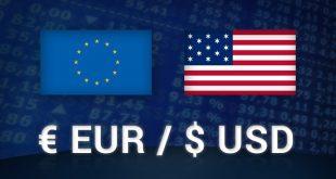 EUR USD 310x165 - نرخ یورو به دلار به دنبال لحن فدرال رزرو مستعد اصلاح بیشتر است